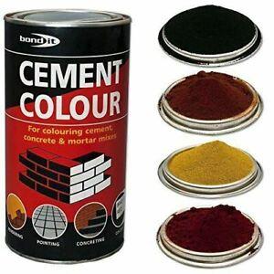 Bond-IT Cement Dye Powder Colour Mortar Brick Pointing Render Concrete Toner 1KG