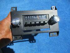 1978 Ford Granada AM Radio Original FOMOCO w/ Face Plate & Mounting Bracket NICE