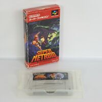SUPER METROID Super Famicom No Instruction 2167 Nintendo sf