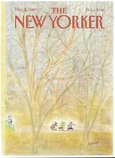 COVER ONLY ~The New Yorker magazine ~December 5 1983 ~ J J Sempé Sempe Quartet
