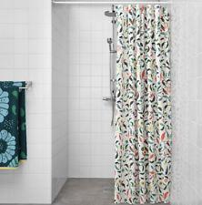 Ikea SANDBREDAN Floral Shower Curtain NEW • Amazing Quality