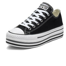 Scarpe Converse Chucks Taylor All Star Platform Layer Ox Taglia 37 563970C Nero