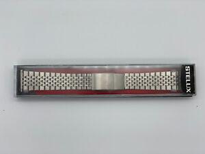 Stelux STL Stainless Steel Watch Bracelet