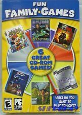 Fun Family Games 6 Great CD PC Games Disney's Magic Artist Tarzan Trivia Million