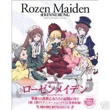 Rozen Maiden Art Book Anime Manga