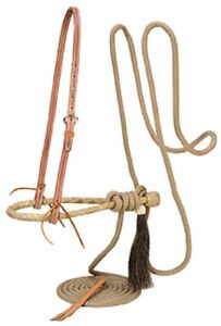 Weaver Leather Horse Training Bosal Hackamore PRO TAN