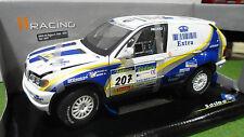 BMW X5 Rallye X-Raid 2004 EXTRA # 207 Alphand 1/18 SOLIDO 9051 voiture miniature