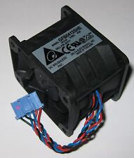 Delta 50 mm x 40 mm Server Dual Fan Assembly - 12 VDC - GFB0412SHE - 10000 RPM