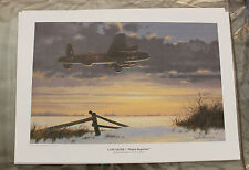 Keith Woodcock - Winter Departure - Lancaster Bomber