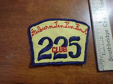 AUBURN MASSACHUSETTS TEN PIN BOWLING  CLUB 225 1960'S BX R 42