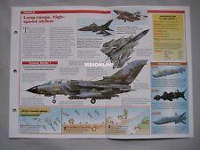 Aircraft of the World Card 49 , Group 5 - Panavia Tornado IDS