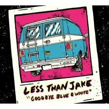 LESS THAN JAKE - GOODBYE BLUE & WHITE - NEW CD+DVD