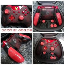 XBOX  ONE ELITE WIRELESS CONTROLLER CUSTOM GEARS OF WAR KIT WITH SCUF W/RED LED