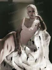 8x10 Print Jean Harlow Beautiful Portrait #JH11