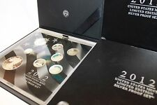 2012 United States Mint Limited Edition Silver Proof Set FREE SHIPPING