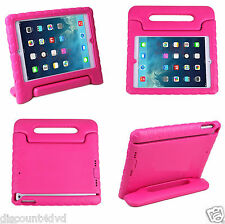Pink Kids Children's Light Weight Shockproof Handle Case Cover For iPad Mini 12