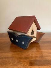 New listing Unique Decorative Wooden Birdhouse