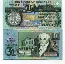 Guernesey - Guernsey billet neuf de 1 pound pick 52 UNC