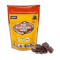 The survival tabs 24 food tablets chocolate stranded aboard food exp 2045