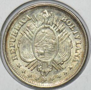 Bolivia 1893 20 Centavos 295705 combine shipping