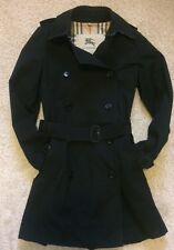 Original Burberry Trenchcoat Größe 36 Damen Schwarz