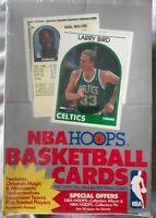 MICHAEL JORDAN SEALED 1989-1990 HOOPS  BASKETBALL WAX BOX 36 PACKS NOS SERIES 1