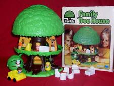 1976 Vintage Kenner Tree Tots Play Family Tree House Swing Included Box EUC 200