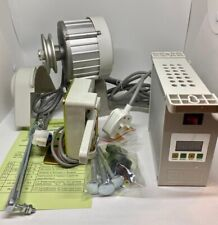 More details for industrial sewing machine energy saving silent motor 550 watt 4500 rpm variable