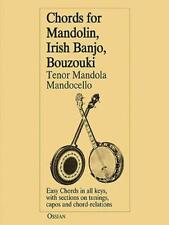 Chords per Mandolin, IRLANDESE BANGO,Bouzouki di John Loesberg libro tascabile