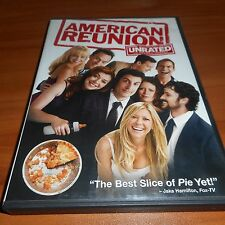 American Reunion (DVD, Widescreen Unrated 2012) Seann William Scott Pie 4 Used