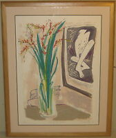 Vintage TSUGUMI OTA 'Still Life with Bather' POST MODERNIST Lithograph - Listed