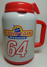 Speedway Fountain Avenue 64 Ounce Refillable Soda Pop Travel Insulated Cup Mug