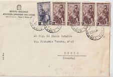 ITALIA1956 6L LAVORO FILIGRANA RUOTA X 4 MISTO 1L FIL STELLE DA GENOVA PER USCIO