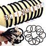10PCS/Set Girls Elastic Hair Ties Band Ropes Ring Ponytail Holder Accessories