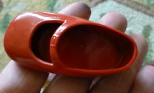 "New in Package VINTAGE 2.5"" IDEAL Red Rubber Doll Shoes"