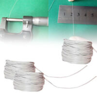 1Pcs UL10064 36AWG 10m White 0.28mm Solder Micro Litz Stranded Wire Cable