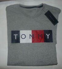 NWT MENS TOMMY HILFIGER S/S T-SHIRT~GRAY~SZ XL