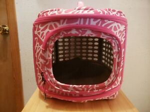 CAT / TOY DOG Soft Sided Comfort Travel Carrier - Folds down flat for storage!