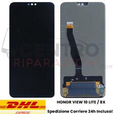 DISPLAY LCD TOUCH SCREEN PER HONOR VIEW 10 LITE / 8X VETRO SCHERMO NERO JNS-L21