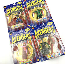 Avengers Earths Mightiest Heroes Thor Loki Iron Man Scarlet Witch Complete Set