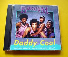 "CD "" BONEY M. - DADDY COOL "" 16 SONGS (RIVERS OF BABYLON)"