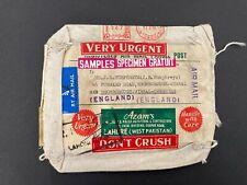 Postal History Pakistan 1974 Samples Bag to UK