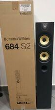 COPPIA B&W BOWERS WILKINS 684 S2 NERE CASSE PAVIMENTO APERTI SOLO FOTO NUOVO