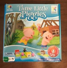 Smart Games Three Little Piggies Deluxe Preschool Puzzle Game 3-6 Years