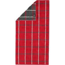 Cawö Handtuch Noblesse Square 1079 | 27 rot - 50 X 100 Cm
