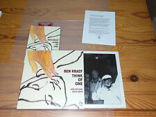 BEN KRAEF - THINK OF ONE / LIMITED PROMO 7'' SINGLE MINT- 2013 & INFO