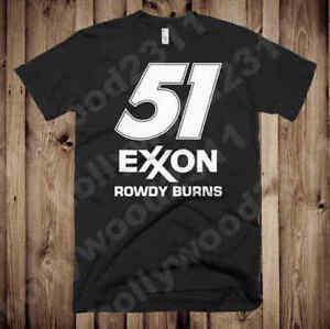 Rowdy Burns Days of Thunder #51 Exxon shirt FREE SHIPPING inside USA!!