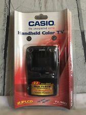 """Collectors Casio TV-980 2.3"""" Color LCD Hand-Held Color TV Non-Glare"""