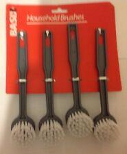 4 X HOUSEHOLD BRUSHES