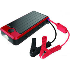 PowerAll Deluxe PBJS12000-RD Portable Power Bank, Jump Starter, LED Flashlight